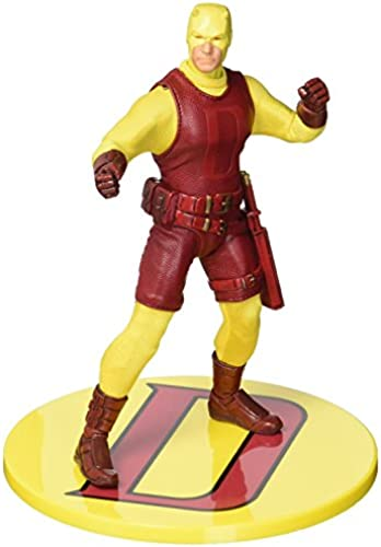 Mezco Toys one-12 llective  Marvel Darotevil Action Figur, gelb