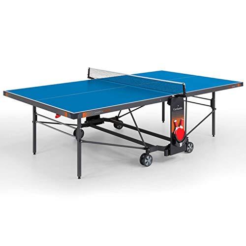 Garlando Mesa Ping Pong Champions Outdoor con ruedas – Tablero azul
