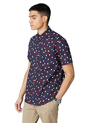 Ben Sherman BS59114 - Camisa de manga corta multicolor L
