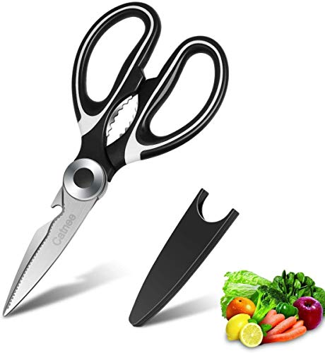 Find Bargain Kitchen Shears,Multifunctional Heavy Duty Kitchen Scissors - Ultra Sharp Stainless Stee...