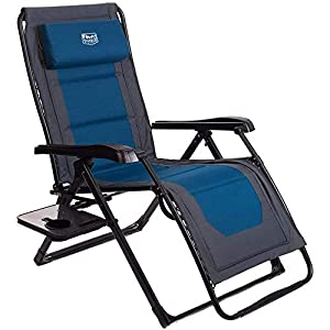 Timber Ridge Zero Gravity Chair Oversize XL Padded - 350lbs