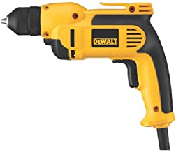 DEWALT VSR Electric Drill, Keyless Chuck, 8.0-Amp, 3/8-Inch (DWD112)