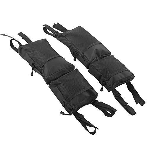 Xirfuni Bolsa de sillín Impermeable para Motos de Nieve 2 Piezas, Bolsa de Almacenamiento Trasera para Herramientas de Almacenamiento de Motos de Nieve, para Montar al Aire Libre