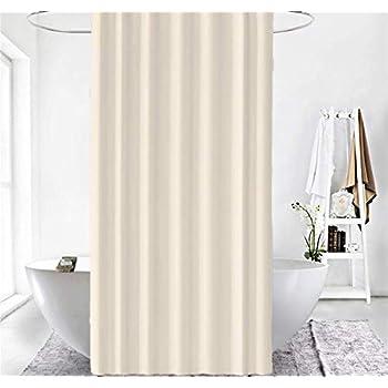 Cortina de Ba/ño de Rayas Grises Cortina de Ducha Larga KOWTH 120 x 200cm 100/% Poli/éster Resistente a Moho y Hongos
