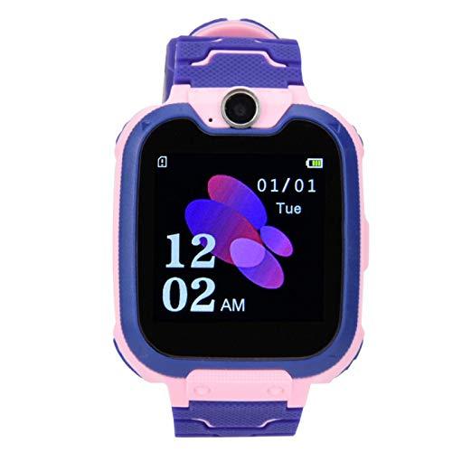 FOLOSAFENAR Toma de fotografías Reloj Despertador Duradero Reloj electrónico Multifuncional Ahorro de energía, para Llamadas de Emergencia, para niños, para niños(Pink)