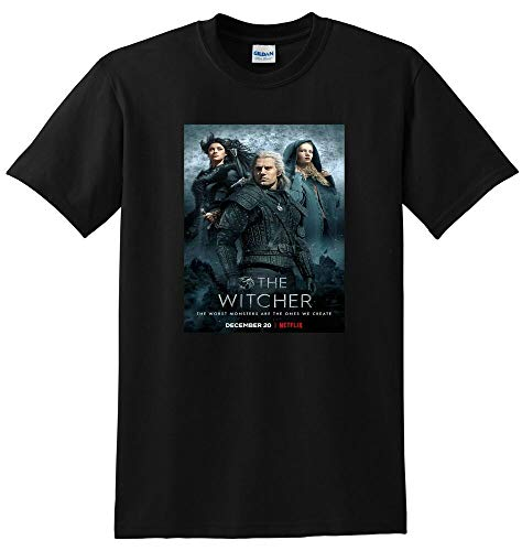 The Witcher T Shirt TV Show Season 1 Poster Tee Small Medium Large Or XL