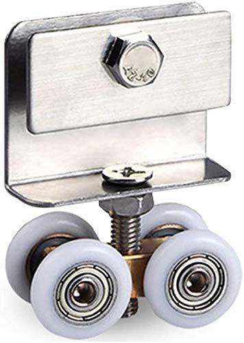 Lanxing Muebles Ruedas 6-10 mm Deslizante Rodillos de la Puerta de Ducha Puertas de Vidrio Peso Neto: 78 g (Individual) Nombre Tamaño: 30pcs (Color : As Shown, Size : 10pcs)