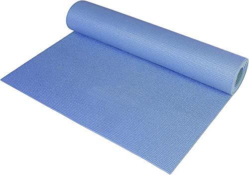 Schneespitze Esteras de Yoga Antideslizantes para Material liviano para Yoga, Pilates y Ejercicios de Piso Estiramiento Gimnasio en casa