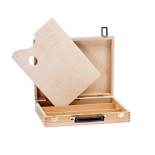 Lienzos Levante Caja de Pinturas Vacia, Madera de Haya, 5-L, 39x31x70 cm