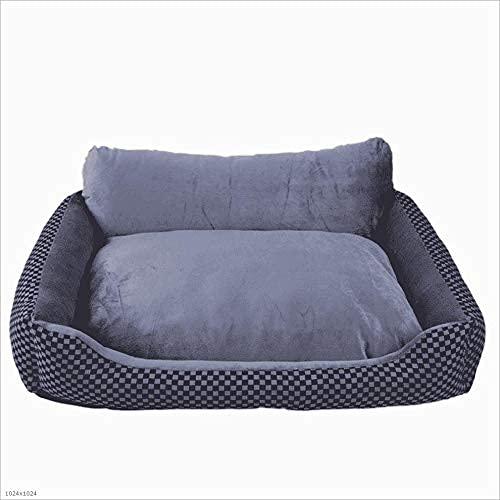WZWHJ Cozy Pet Waterloo, nido de mascotas, lindo nido de mascota suave, no tóxico, transpirable, cálido, suave, suave, transpirable, calmante, cama de perro (tamaño: L)