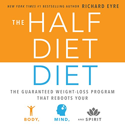 The Half-Diet Diet audiobook cover art