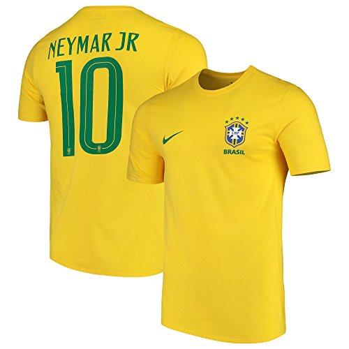 NIKE Men's Soccer Brazil Neymar Tee (X-Large)