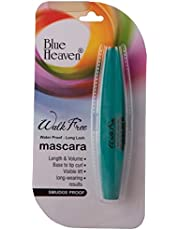 Blue Heaven Walk Free Green Pack Mascara, Black, 12ml