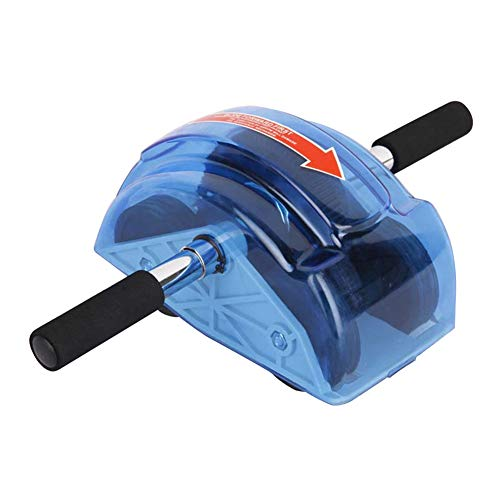 GuangLiu Bauchtrainer Roller Bauchroller Fitnessgeräte für zu Hause Ab Wheel Rollout Abs Cruncher Für Männer Turnhallenrolle Power Roller Ab Trainer