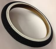 """Duro BLACK WITH WHITE WALL BMX Tyre 20 x 1.95 - Will Fit All 20"""" BMX / Childs Mountain Bikes Etc"""