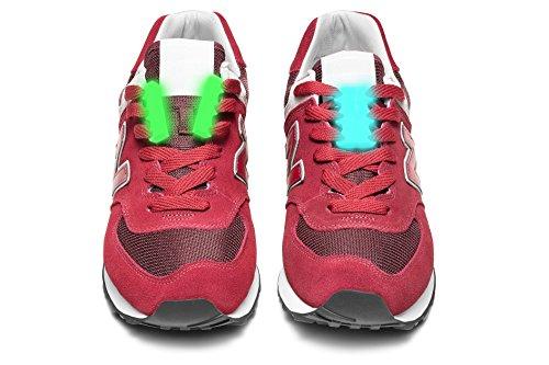 Magnetische Schuhbinder No Tie Shoelaces Schnürsenkel Schnellschnürsystem für Schuhe ohne Binden für Damen Herren und Kinder Verschlusssystem für Schuhe Sneaker Stiefel Brettschuhe und Freizeitschuhe