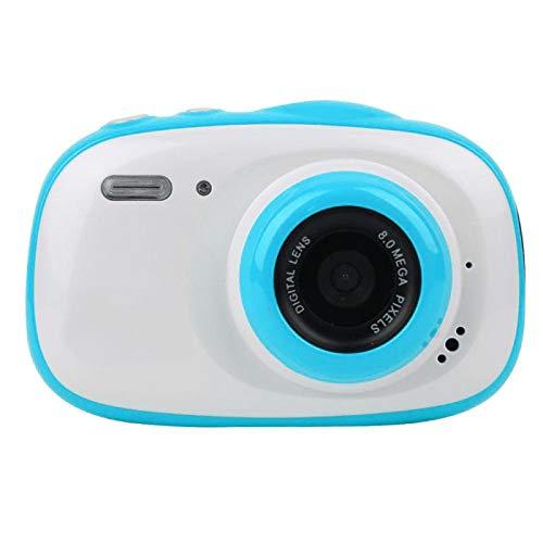 Ufolet Mini cámara de 1080p, cámara para niños, para Disparo Continuo Grabación de Video Disparo Normal Disparo retardado(Blue)