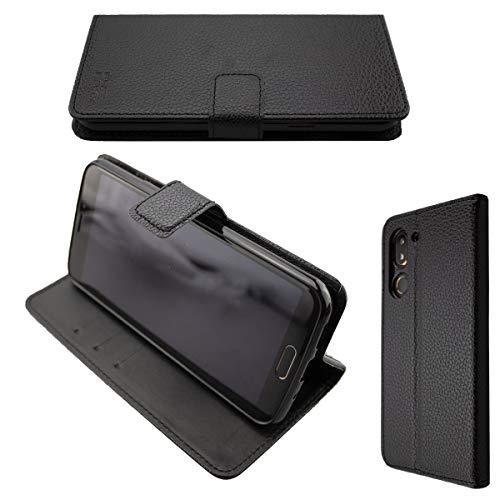 caseroxx Handy Hülle Tasche kompatibel mit Doro 8080/8062 Bookstyle-Hülle Wallet Hülle in schwarz