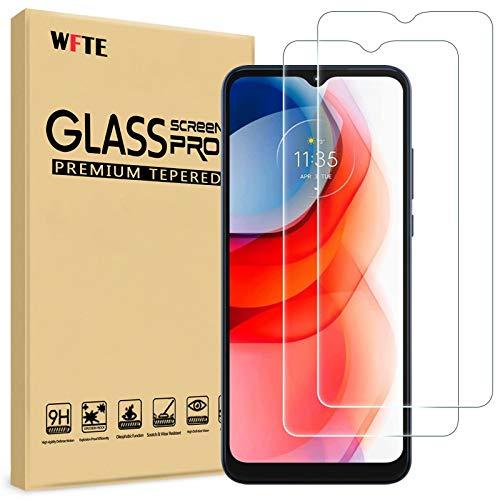 WFTE [2-Pezzi] Vetro Temperato per Motorola Moto G Play Pellicola Vetro Protettiva [Durezza 9H][ Anti graffio][Anti-Impronte][Senza Bolle]