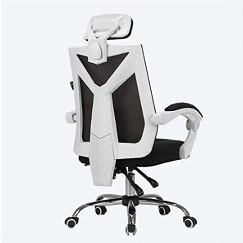 Sillas de juego, silla de juegos profesional con ajuste de altura, reposacabezas y soporte lumbar silla giratoria E-Sports (color 3)
