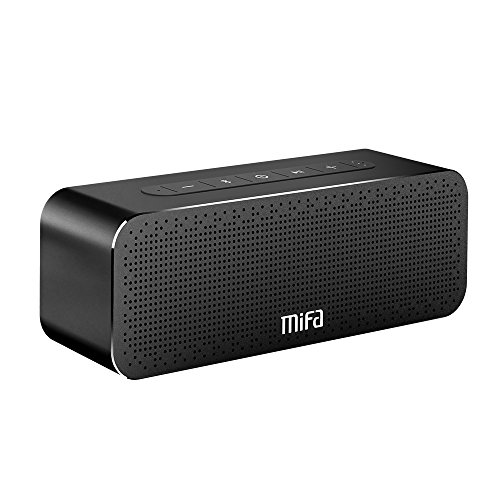 Bluetooth Speakers Loud 24-Hour Playtime, MIFA A20 Portable True Wireless Stereo TWS Speaker Soundbox Rich Bass and 3D DSP Sound, 30W, with Built-in Mic, Micro-SD Card Slot, for Home, Office, Travel