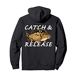 Pêche à la carpe Pêcheur Cadeaux Catch And Release Sweat à Capuche