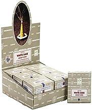 Satya White Sage Dhoop Cones 12 Boxes Total 144 Cones