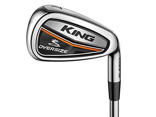 COBRA Puma Golf King OS RH Eisensatz Set 5-PW, SW Mamiya Recoil ES Graphit Lite, Farbe:Black