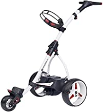 MotoCaddy WHITE S1 Digital Electric Powered Golf Cart Lithium Battery