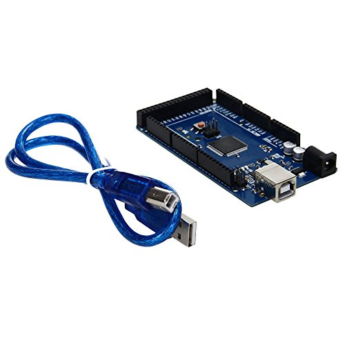 SODIAL (R) placa de desarrollo ATMega16U2 Mega2560 R3 para placa Arduino con el cable de datos USB