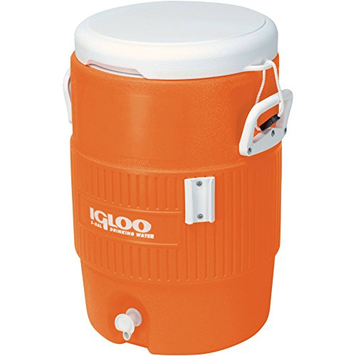 Igloo 5-Gallon Heavy-Duty Beverage Cooler (Orange, 3 Pack)