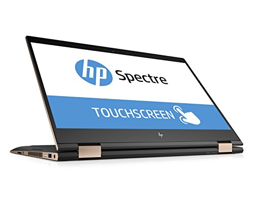 HP Spectre x360 15-ch002ng (15,6 Zoll / 4K IPS Touchdisplay) Convertible Laptop (Intel Core i7-8550U, 16GB RAM, 1TB SSD, Nvidia GeForce MX150 2GB DDR5, Windows 10 Home 64) grau/kupfer