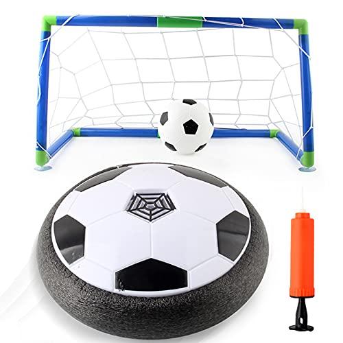 IIIL Air Hover Ball Soccer, Balón Fútbol Flotante, con LED Colores, Juguete Interior Muy Seguro Y Divertido, Regalo Divertido para Adultos, Niños, Niñas