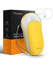 OCOOPA Handwarmer PD snelladen, 10000 mAh externe batterij USB-C powerbank Eectrische handwarmer oplaadbaar, 15 uur lang aanhoudende hitte, 3 warmtestanden, leuk cadeau vrouwen mannen