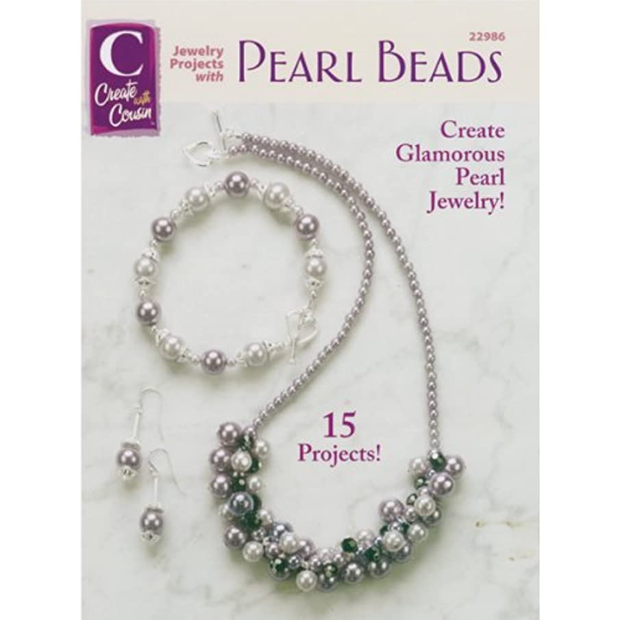 Cousin C-22986 Corporation Jewelry Projects Book with Pearl Bead