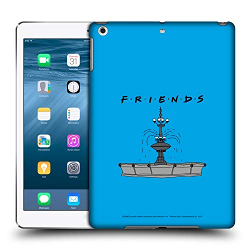 Head Case Designs Offizielle Friends TV Show Brunnen Ikonisch Harte Rueckseiten Huelle kompatibel mit iPad Air (2013)