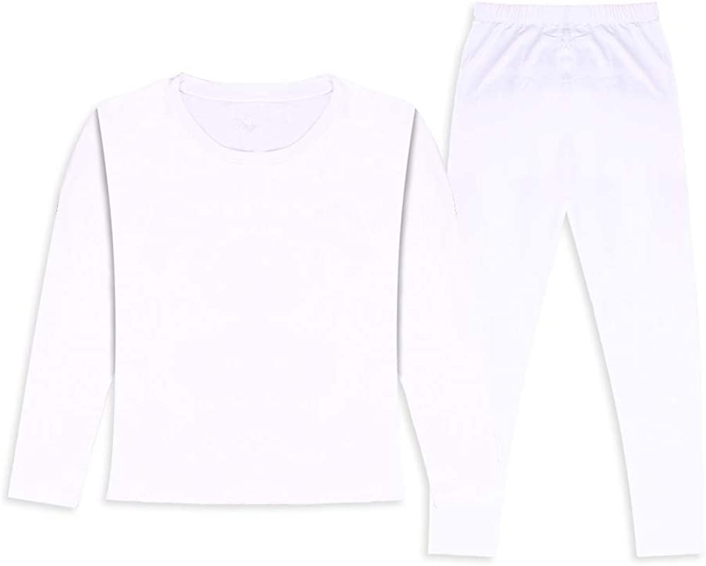 HEROBIKER Thermal Underwear Boys Ultra Soft Fleece Lined Kids Thermals Long Johns Top Bottom Warm Set for Winter Skiing