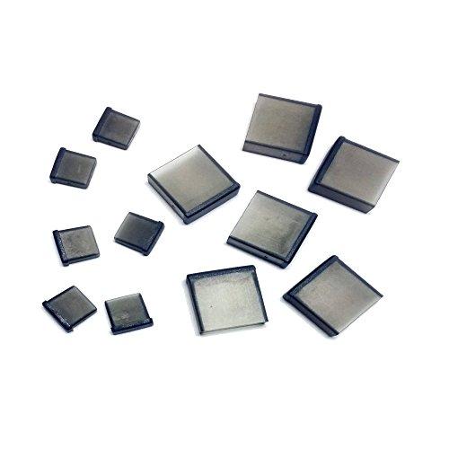 monofive microUSB オス 、USB A オス コネクタ用 保護カバーキャップ 6個+6個入 黒 半透明 MF-MUSBC2-12B