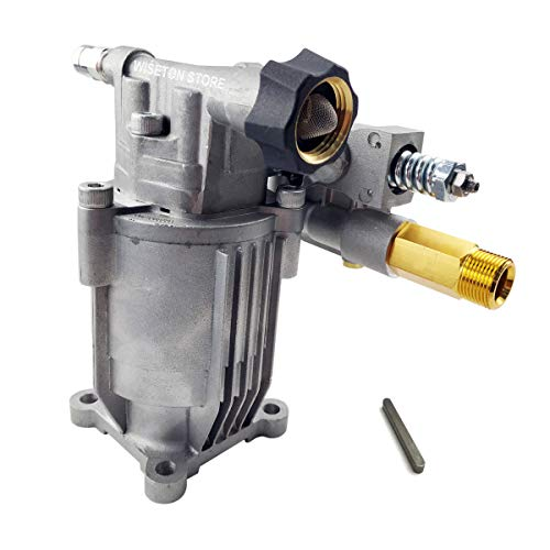 """Pressure Washer Pumps Replacement 2800 Psi 2.5GPM Power Washer Pump - Horizontal Pump with 3/4"""" Shaft M22 Connectors Include Keyway"""
