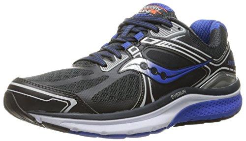 Saucony Men's Omni 15 Running Shoe, Twilight/Blue/Citron, 10.5 M US