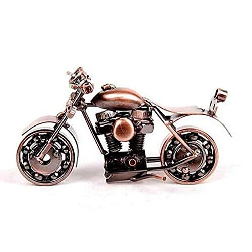 Motorcycle Decor Handmade Model Collectible Art Sculpture Motorbike For Home M37