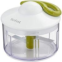 Tefal K13304 Fresh Kitchen 5 segundos, picadora manual de 500 ml, picado grueso, medio y fino, dos cuchillos independientes y patentados, sin electricidad, base antideslizante y fácil de limpiar