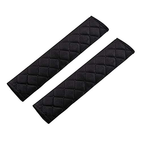 URAQT 2 Stück Gurtpolster, Polsterung für Sitzgurt, Premium Gurtpolster, Auto Gurt Polster, Polsterung für Sitzgurt im Auto für mehr Komfort auf der Reise