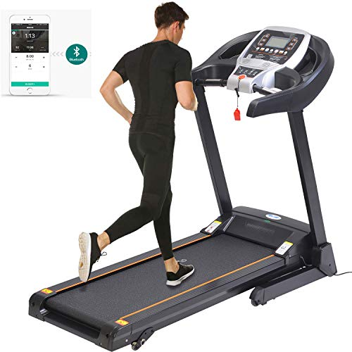 Aceshin Incline Treadmill for Running, Folding Treadmills for Home Gym Office, Motorized Fitness Smartphone APP Control,...
