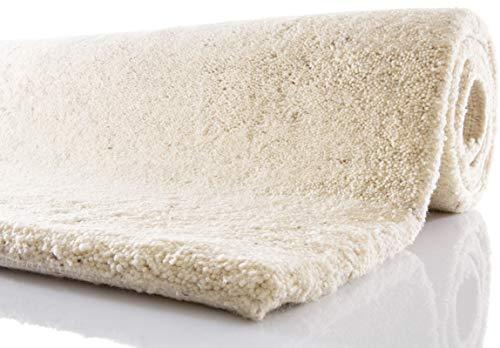 Tuaroc Berber-Teppich Temara mit ca. 102.000 Florfäden/m² meliert 140 cm x 200 cm beige