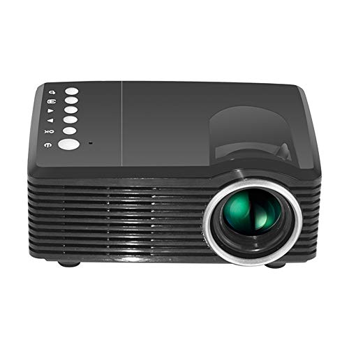 Fxhan 4K HD 3D Mini Smart Projector DLP D-TV AV USB TF Home Theater Cinema