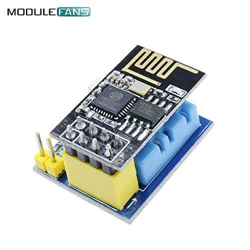 ESP8266 ESP01S ESP-01S DHT11 Temperatur Feuchte Sensor Modul WiFi Wireless Transceiver Adapter Board NodeMCU für Arduino