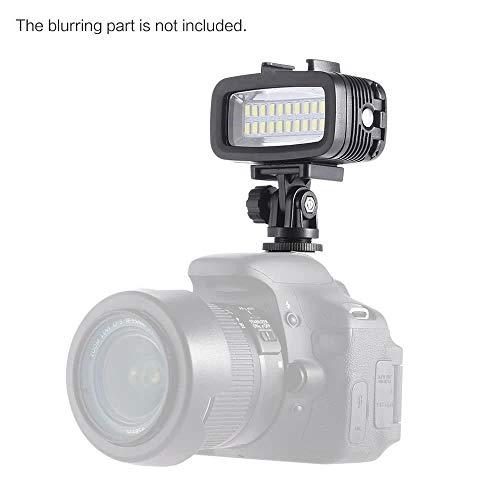 KSNCQJ SL-100 es adecuado for luz de relleno buceo cámara movimiento LED Gopro lámpara impermeable fotográfica medidor de luz de buceo 40, la luz de color de origen: SL-100 luces sumergibles (40 m) Lu