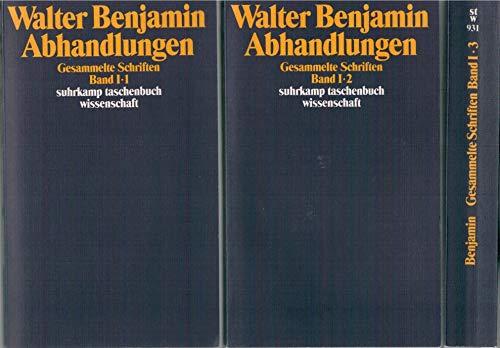 Gesammelte Schriften; Abhandlungen, Volume: 1-3
