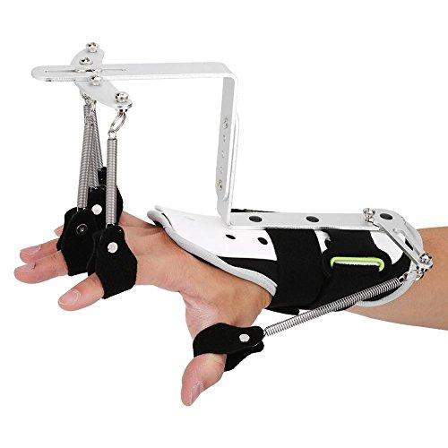 Ejercicio de ortopedia ajustable para la muñeca de dedo, entrenamiento de rehabilitación de la mano Ortopedia de dedo para el ejercicio hemiplejía de pacientes con hemiplejía